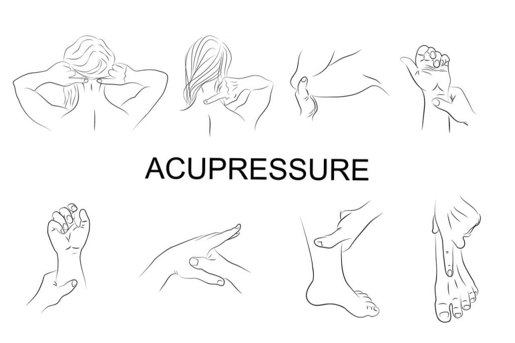acupressure points to relieve pain